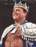 "Jerry ""The King"" Lawler Signed WWE 8x10 Photo Inscribed ""WWE"" & ""HOF 07"" (Beckett COA) at PristineAuction.com"