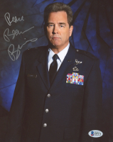 """Beau Bridges Signed """"Stargate SG-1"""" 8x10 Photo Inscribed """"Best Wishes"""" (Beckett COA) (See Description) at PristineAuction.com"""