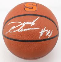 Derrick Coleman Signed Syracuse Orange Logo Basketball (JSA COA) (See Description) at PristineAuction.com