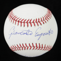 "Giancarlo Esposito Signed OML Baseball Inscribed ""Gustavo Fring"" (JSA COA) at PristineAuction.com"