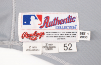 MARK McGWIRE 2000 CARDINALS GAME-WORN JERSEY MYSTERY SWATCH BOX! at PristineAuction.com