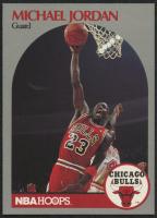 Michael Jordan 1990-91 Hoops #65 at PristineAuction.com