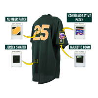 MARK McGWIRE 1997 ATHLETICS GAME-WORN BP JERSEY MYSTERY SWATCH BOX! at PristineAuction.com