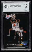 Shaquille O'Neal 1992-93 Upper Deck #1 SP RC / NBA First Draft Pick (BCCG 10) at PristineAuction.com