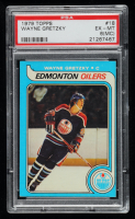 Wayne Gretzky 1979-80 Topps #18 RC (PSA 6) (MC) at PristineAuction.com