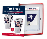 TOM BRADY 2007 PATRIOTS GAME-WORN JERSEY MYSTERY SWATCH BOX! at PristineAuction.com