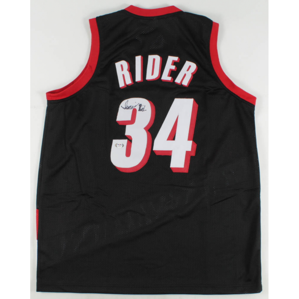Isaiah Rider Signed Jersey (PSA COA) | Pristine Auction