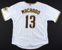 Manny Machado Signed Padres Jersey (Beckett COA) at PristineAuction.com