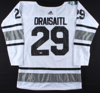 Leon Draisaitl Signed 2019 Oilers All-Star Jersey (PSA COA) at PristineAuction.com