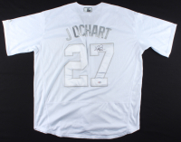 "Trevor Bauer Signed Reds Jersey Inscribed ""Jochart"" (PSA COA) at PristineAuction.com"