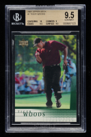 Tiger Woods 2001 Upper Deck #1 RC (BGS 9.5) at PristineAuction.com