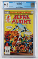 "1983 ""Alpha Flight"" Issue #1 Marvel Comic Book (CGC 9.8) at PristineAuction.com"