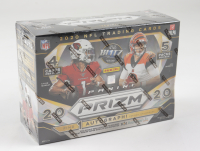 2020 Panini Prizm Football Mega Box with (5) Packs at PristineAuction.com