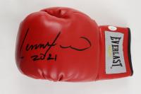 """Lennox Lewis Signed Boxing Glove Inscribed """"2021"""" (JSA Hologram) at PristineAuction.com"""