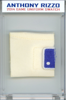 ANTHONY RIZZO 2014 CUBS GAME-WORN UNIFORM  MYSTERY SWATCH BOX! at PristineAuction.com