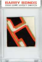 BARRY BONDS 2000 SF GIANTS GAME-WORN JERSEY MYSTERY SWATCH BOX! at PristineAuction.com