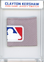 CLAYTON KERSHAW 2016 DODGERS GAME-WORN JERSEY MYSTERY SWATCH BOX! at PristineAuction.com