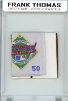 FRANK THOMAS 1997 WHITE SOX GAME-WORN JERSEY MYSTERY SWATCH BOX! at PristineAuction.com