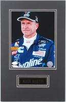 Mark Martin Signed NASCAR 11x17 Custom Matted Photo Display (JSA COA) at PristineAuction.com