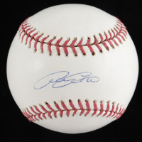 Adam Everett Signed OML Baseball (TriStar Hologram & MLB Hologram) at PristineAuction.com