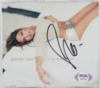 """Jennifer Lopez Signed """"If You Had My Love"""" CD Disc Cover (Beckett COA & PSA COA) at PristineAuction.com"""