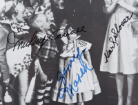 """The Wizard of Oz"" 11x15 Photo Cast-Signed by (4) with Mickey Carroll, Jerry Maren, Karl Slover & Donna Stewart Hardaway (JSA COA) at PristineAuction.com"