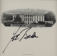 Joe Biden Signed 14.75x21.25 Custom Framed Photo Display (JSA COA) at PristineAuction.com