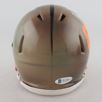 Chad Johnson Signed Bengals Hydro-Dipped Speed Mini-Helmet (Beckett COA) (See Description) at PristineAuction.com