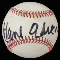 Hank Aaron Signed ONL Baseball (Beckett LOA) (See Description) at PristineAuction.com