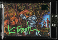 Kevin Eastman Signed 2019 Topps Art of TMNT Green #30 (Sportscards.com Encapsulated) at PristineAuction.com