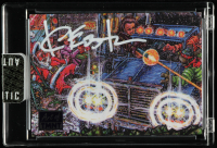 Kevin Eastman Signed 2019 Topps Art of TMNT Purple #31 (Sportscards.com Encapsulated) at PristineAuction.com