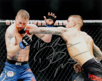 Dustin Poirier Signed 8x10 Photo (PSA COA) at PristineAuction.com