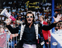 "Jimmy Hart Signed 8x10 Photo Inscribed ""2005 HOF"" (PSA COA) at PristineAuction.com"