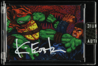 Kevin Eastman Signed 2019 Topps Art of TMNT Green #39 (Sportscards.com Encapsulated) at PristineAuction.com