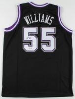 Jason Williams Signed Kings Jersey (PSA COA) at PristineAuction.com
