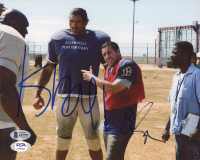 """Adam Sandler & The Great Kali Signed """"The Longest Yard"""" 8x10 Photo (Beckett COA) at PristineAuction.com"""