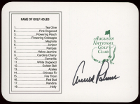 Arnold Palmer Signed Masters Augusta National Golf Club Scorecard (PSA LOA) at PristineAuction.com