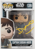 "Diego Luna Signed ""Star Wars: Rogue One"" #139 Captain Cassian Andor Funko Pop! Vinyl Figure (Beckett Hologram) (See Description) at PristineAuction.com"