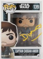 "Diego Luna Signed ""Star Wars: Rogue One"" #139 Captain Cassian Andor Funko Pop! Vinyl Figure (Beckett Hologram) (See Description) at PristineAuction.com"