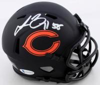 Lance Briggs Signed Bears Eclipse Alternate Speed Mini Helmet (Beckett COA) at PristineAuction.com