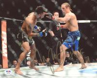 "Urijah Faber Signed UFC 8x10 Photo Inscribed ""HOF 17"" (PSA Hologram) at PristineAuction.com"