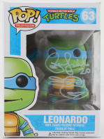 "Peter Laird Signed ""Teenage Mutant Ninja Turtles"" Leonardo #63 Funko Pop! Vinyl Figure Inscribed ""2019"" With Hand-Drawn Sketch (Beckett Hologram) (See Description) at PristineAuction.com"