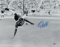 Pele Signed Team Brazil 11x14 Photo (Beckett COA) at PristineAuction.com