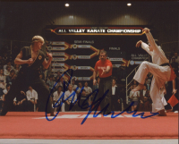 "Ralph Macchio Signed ""Karate Kid"" 8x10 Photo (AutographCOA COA) at PristineAuction.com"