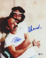 Cheech Marin & Tommy Chong Signed 8x10 Photo (Beckett COA) at PristineAuction.com