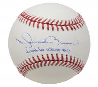 "Mariano Rivera Signed OML Baseball Inscribed ""Last To Wear #42"" (JSA COA) at PristineAuction.com"