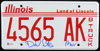 "Daniel Stern Signed ""Home Alone"" Illinois License Plate Inscribed ""Marv"" (Beckett COA) at PristineAuction.com"