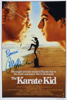 "Ralph Macchio Signed ""The Karate Kid"" 12x18 Photo Inscribed ""Banzai!"" (AutographCOA Hologram) at PristineAuction.com"