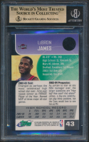 LeBron James 2003-04 E-Topps #43 RC (BGS 9.5) at PristineAuction.com