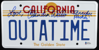 "Claudia Wells Signed ""Back to the Future"" California License Plate Inscribed ""Love"" & ""Jennifer Parker"" (Beckett COA) at PristineAuction.com"